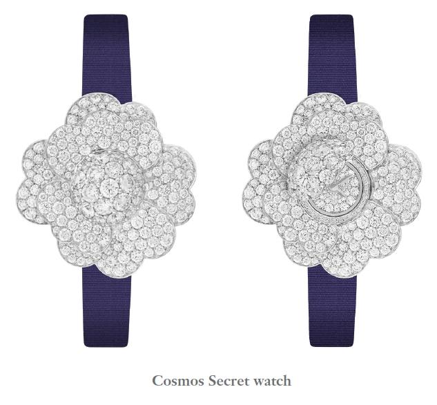 Van Cleef & Arpels Cosmos Secret watch - Unique piece - SIHH 2018