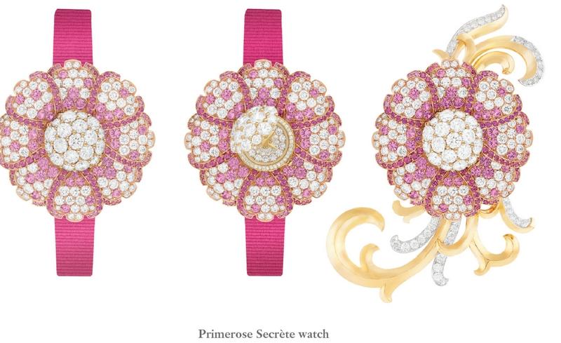Van Cleef & Arpels Primerose Secrète watch - Unique piece