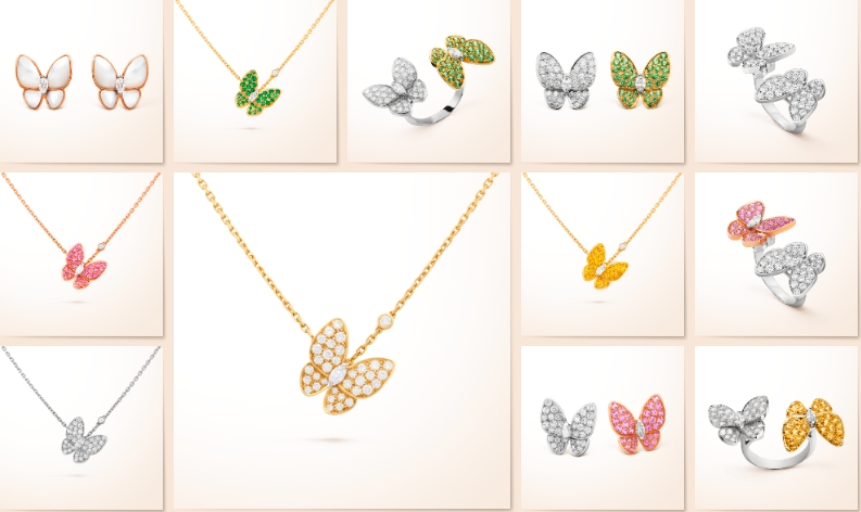 Van Cleef & Arpels Two Butterflies shine a new light on the season of renewed life