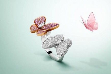An exercise in style: Van Cleef & Arpels. Two Butterfly and a new book