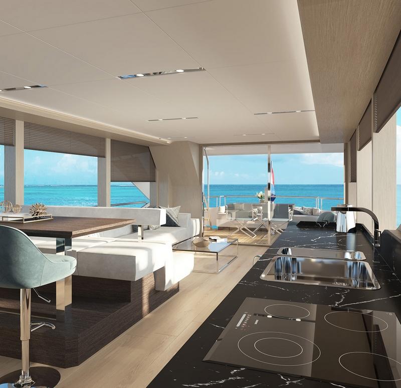 Van Den Hoven VOYAGER 61 yacht 2019 - int