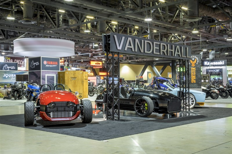 Vanderhall Edison electric three-wheeler - launch2017