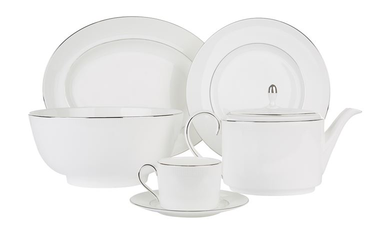 Vera Wang for Wedgwood Blanc Sur Blanc Tableware Range