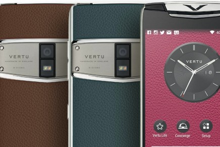 Vertu's new Constellation is all about high-performance