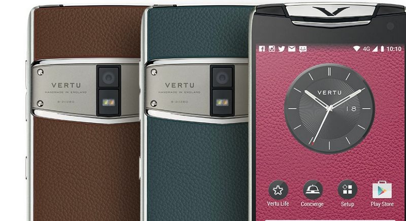 Vertu launches Constellation - the next generation of its high-performance smartphone 2017-