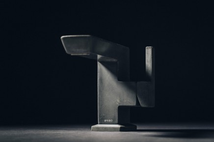 Vettis Concrete: Limited edition concrete faucet reaches new height of luxury