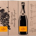 Veuve Clicquot Naturally Clicquot eco-packaging from grapes 2015 edition