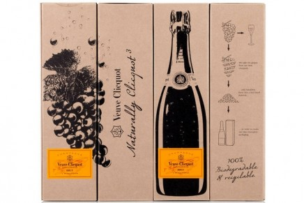 Naturally Clicquot 3.0: champagne house transforms grapes into eco-packaging