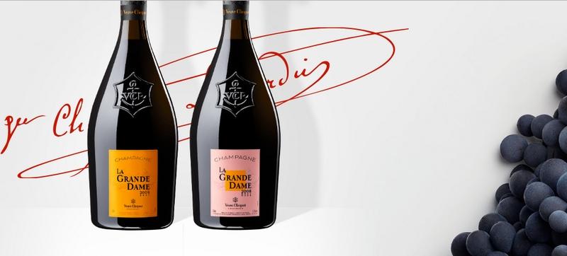 Veuve Clicquot unveils La Grande Dame 2008 - La Grand Dame Rose 2018