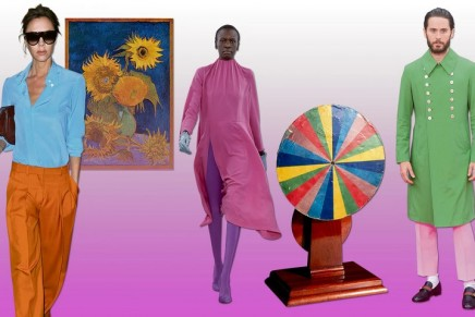The art of colour: why Victoria Beckham is channelling Van Gogh this season
