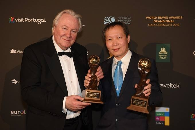 Vietnam Airlines was named the World's Leading Cultural Airline and World's Leading Airline - Premium Economy Class at this year's prestigious World Travel Awards gala