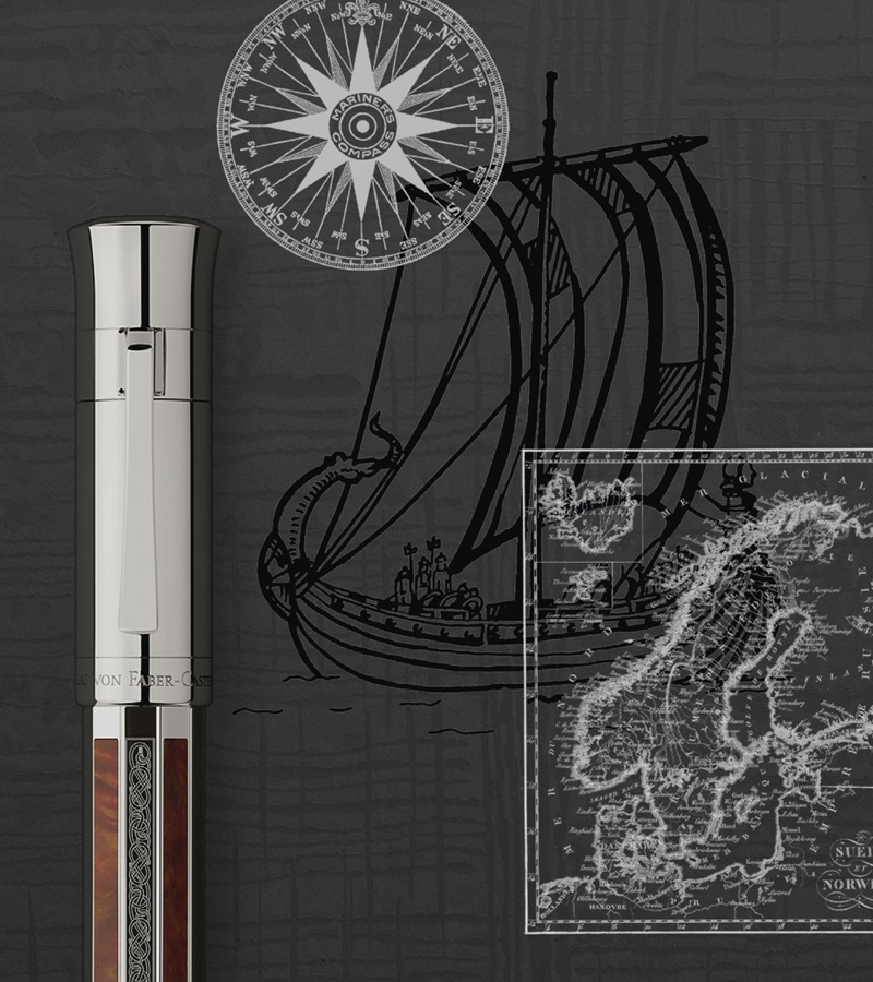 Viking Graf Von Faber Castell Pen of the Year 2017-