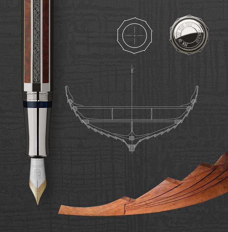 Viking Graf Von Faber Castell Pen of the Year 2017-inspiration from the north