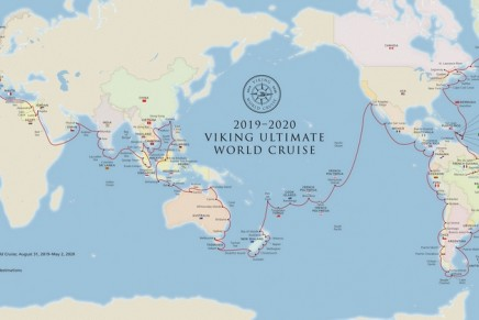 This 245-Day Ultimate World Cruise is the longest-ever continuous world cruise itinerary