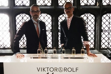 Viktor&Rolf present their first fragrance collection