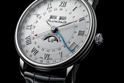 Blancpain for Baselworld 2018: Villeret Quantième Complet GMT