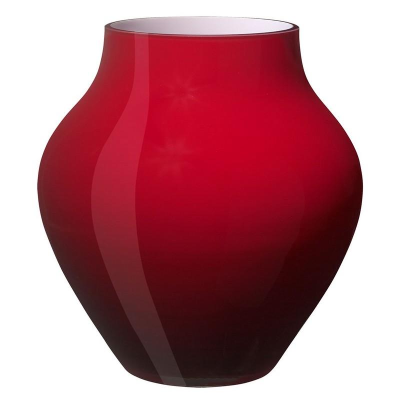 Villeroy & Boch Large Oronda Deep Cherry Vase