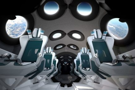 Out-of-world weightless experience: Virgin Galactic Reveals SpaceshipTwo Cabin Interior