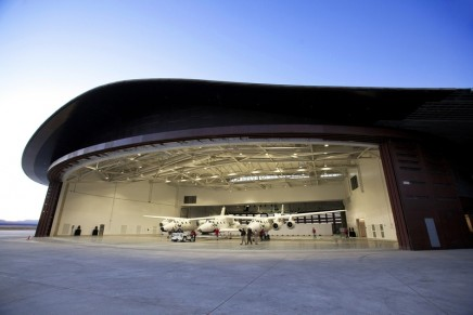 Virgin Galactic revealed the interior fit-out of its Gateway to Space Terminal