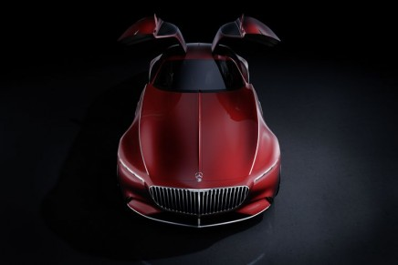 Vision Mercedes-Maybach 6 – the all electric glamorous coupé with technoid look