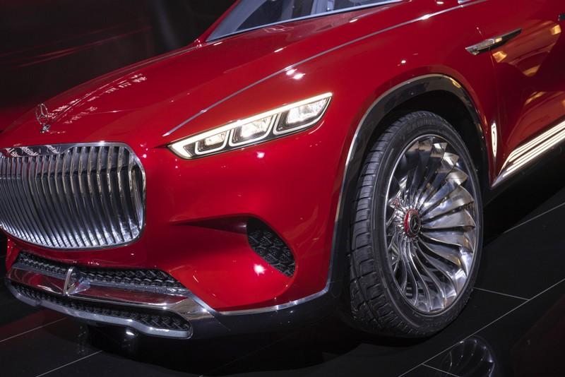"Mercedes-Benz Vernissage ""Vision Mercedes-Maybach Ultimate Luxury"" am Vortag der Auto China 2018"