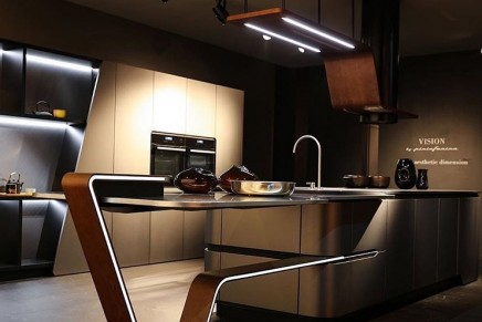 Milan Design Week 2018: World premiere of Vision by Pininfarina, the new kitchen designed for Snaidero