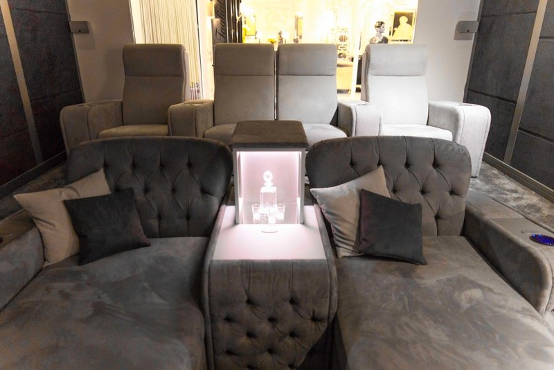 Vismara Design Italy - luxury game rooms and home theatres-Salone del Mobile 2017 Milano