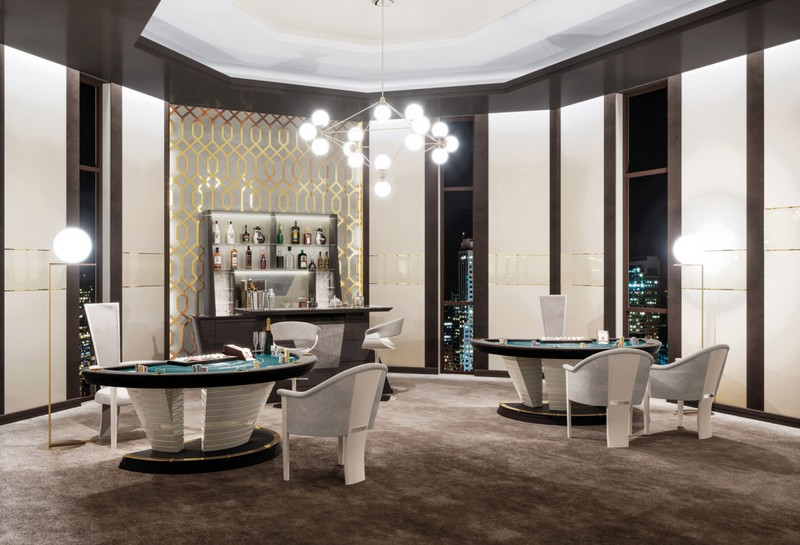 Vismara Design Italy - luxury game rooms and home theatres-Salone del Mobile Milano2017 room