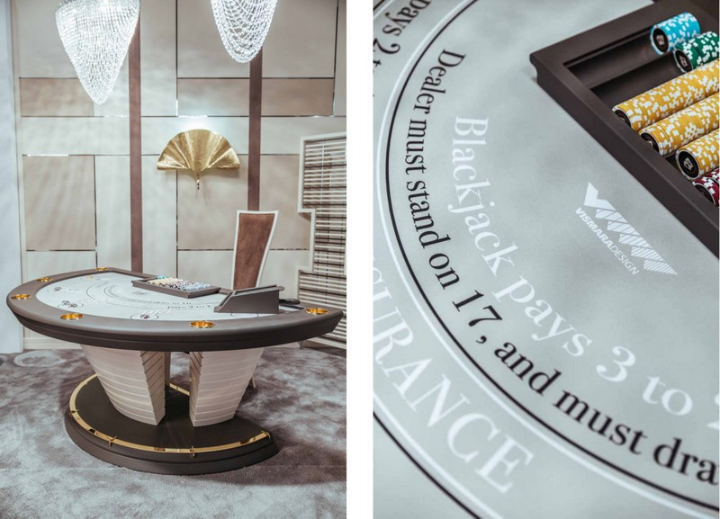 Vismara Design Italy - luxury game rooms and home theatres
