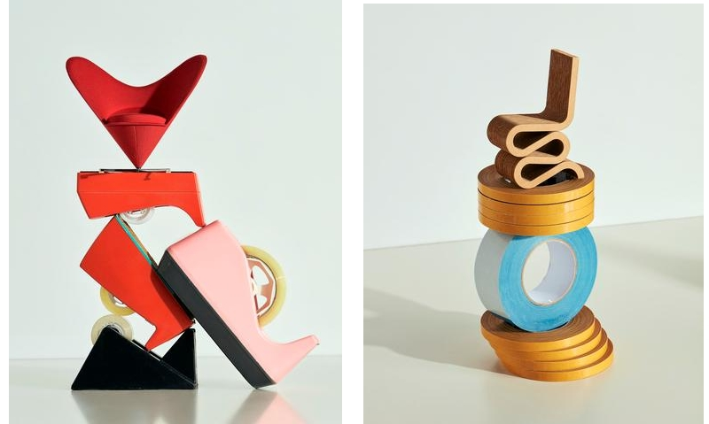 Vitra Design Museum Miniatures Collection 2018-items