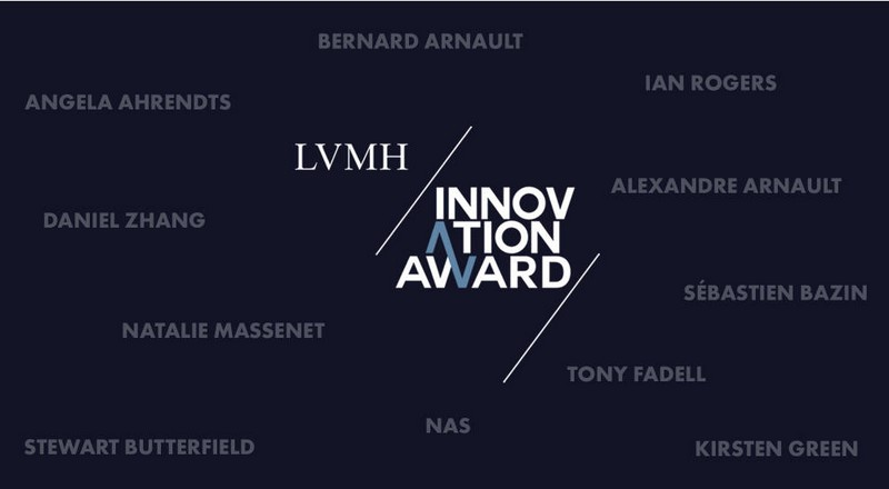 Viva Tech 2017 Innovation award by LVMH luxury group