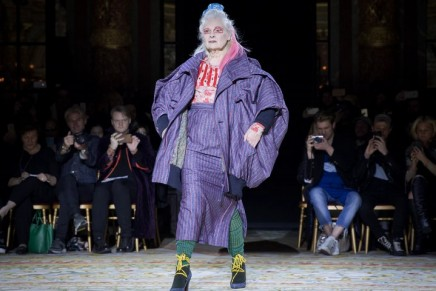Vivienne Westwood is the star of her own show at Paris fashion week