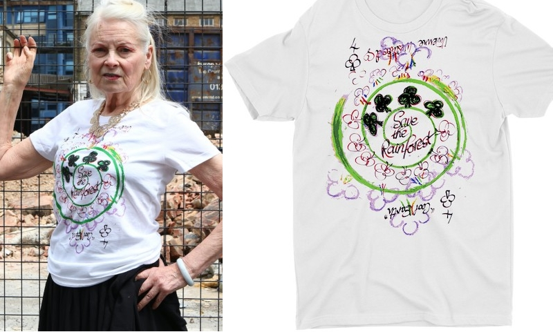 Vivienne Westwood Save the Rainforest