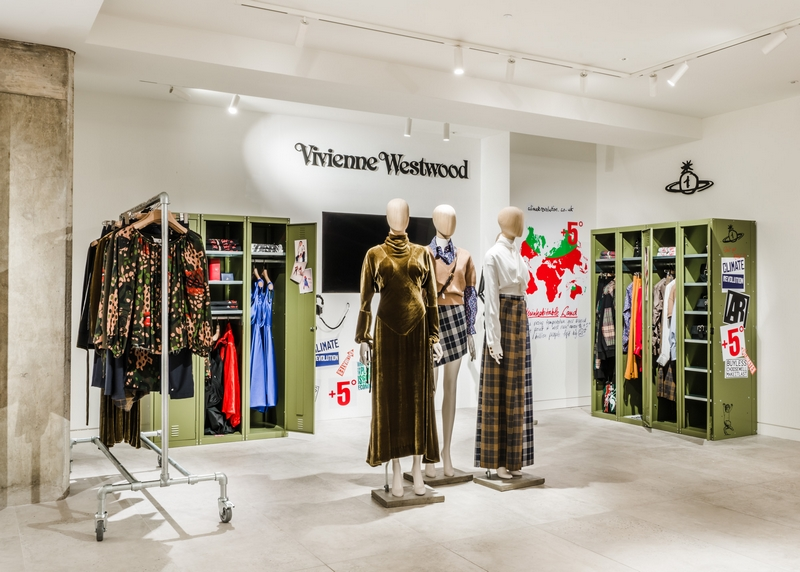Vivienne Westwood pop-up inspired by an army base