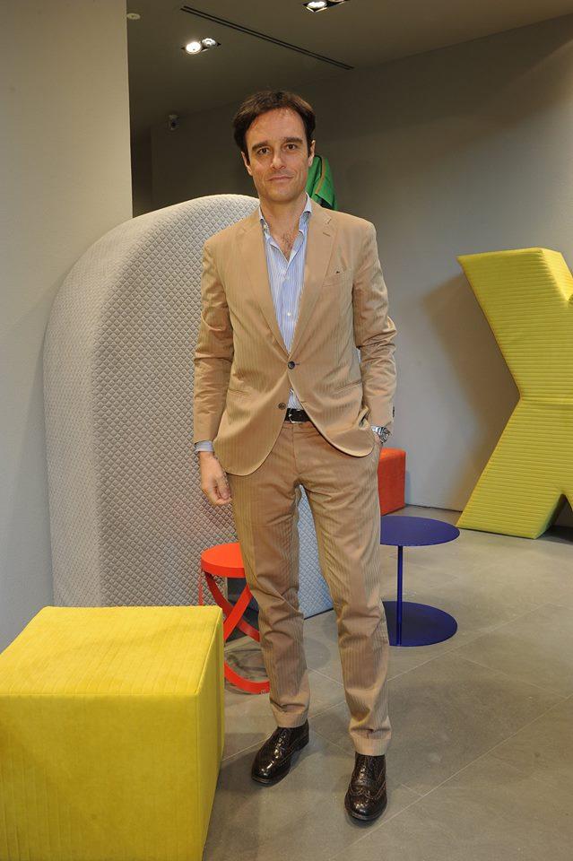 Vogue Italia Editor-in-Chief Emanuele Farneti-
