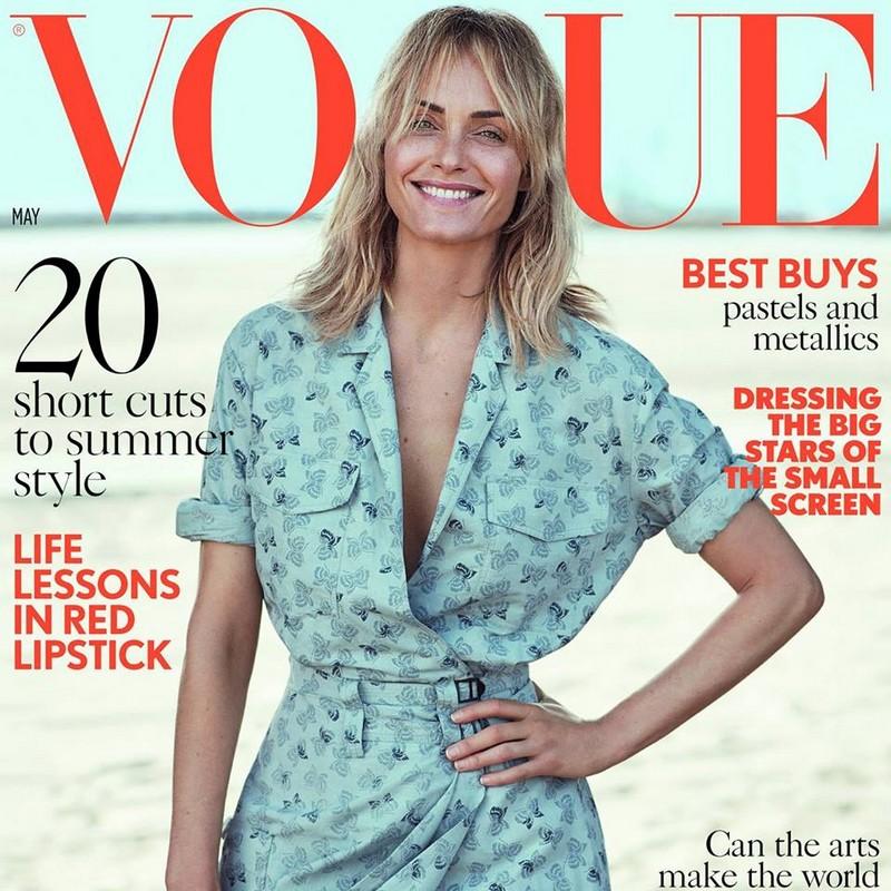 Vogue UK cover 2017 April