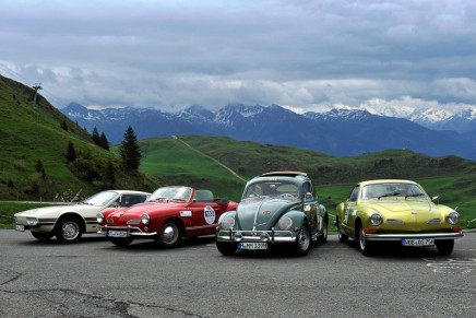 Volkswagen Classic presenting five famous vehicles at 2019 Classic Days at Schloss Dyck