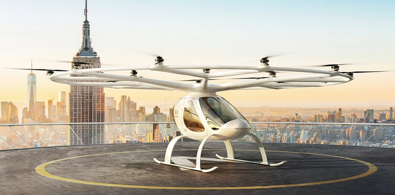 Volocopter air taxi 2019