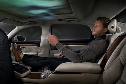 Volvo S90 Ambience Concept – an industry-first sensory experience in the automotive realm