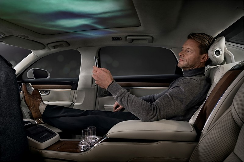 Volvo S90 Ambience Concept - an industry-first sensory experience in the automotive realm-