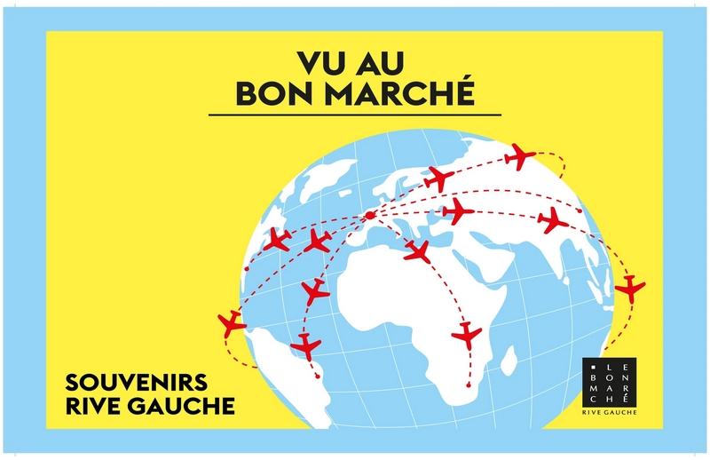 Vue au Bon Marche expo 2017