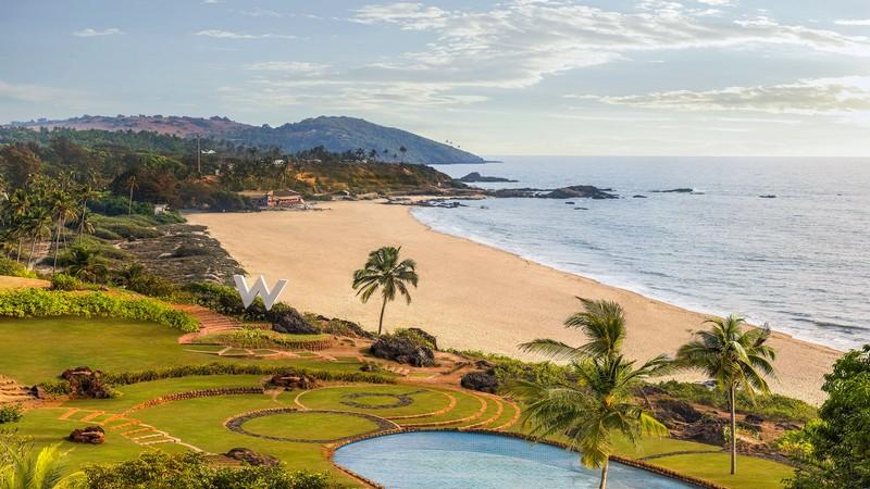 W Goa Hotel - an Exuberant Escape on the Arabian Sea-views