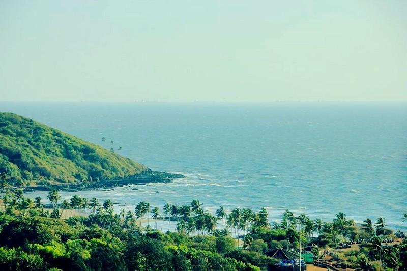 W Goa - an Exuberant Escape on the Arabian Sea - the views