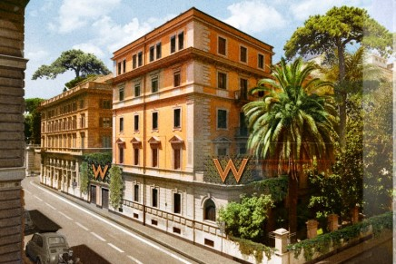W Rome to offer a unique twist on La Dolce Vita in the Eternal City