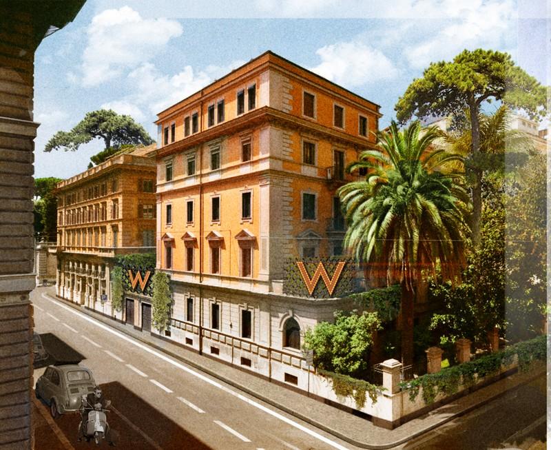 W Hotels Italy renderings