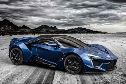 Just another high performance luxury sports car: W Motors Fenyr SuperSport hypercar