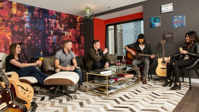 W Sound Suite at W Seattle 2017-