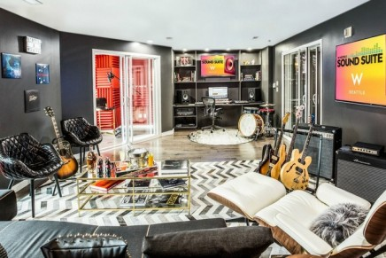 This Sound Suite offers a retreat for musicians and producers to write and record tracks while on the road