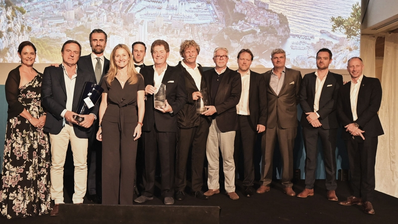 WINNERS OF THE 6TH MONACO YACHT SHOW SUPERYACHT AWARDS CEREMONY