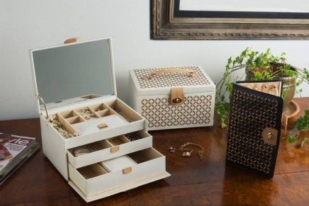 15 Timeless Jewelry & Watch Boxes: Luxurious solutions for compact storage